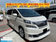 2013 TOYOTA VELLFIRE 3.5 V L EDITION FACELIFT FREE 2 YEARS WARRANTY