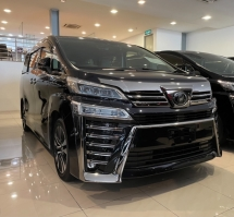 2018 TOYOTA VELLFIRE 2.5 Z G EDITION NEW FACELIFT 3-LED