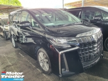2018 TOYOTA ALPHARD UNREG 2.5 SA FACELIFT *3 years GMR warranty*