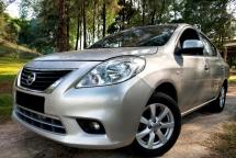 2012 NISSAN ALMERA 1.5V Kereta Jaga Tip Top Loan TInggi B/List Boleh