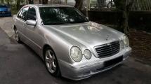 2002 MERCEDES-BENZ E-CLASS E240 2.6 (A) 2002 REG 2006