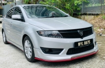 2013 PROTON PREVE CFE TURBO 1.6 AUTO PADDLESHIFT GEAR , PUSH START.