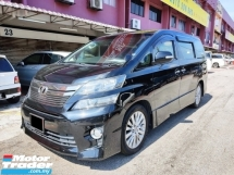 2013 TOYOTA VELLFIRE 2.4 Z G EDITION FACELIFT FREE 2 Yrs WARRANTY