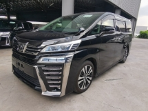 2018 TOYOTA VELLFIRE 2.5 ZG With Pilot Seat, BEST PRICE - JP UNREG