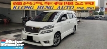 2011 TOYOTA VELLFIRE 2.4 Z PLATINUM (FREE 2 YEARS CAR WARRANTY) REG 2013