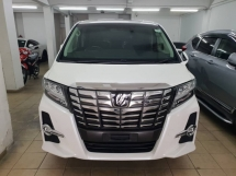 2016 TOYOTA ALPHARD 2.5 SC SPEC(3 YEARS CAR WARRANTY)(SURROUND CAMERA)