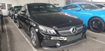 2018 MERCEDES-BENZ C-CLASS C200 COUPE  AMG PREMIUM  PANROOF NO HIDDEN CHARGES