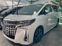 2019 TOYOTA ALPHARD 2.5 Surround camera power boot Facelift 3 LED Unregistered