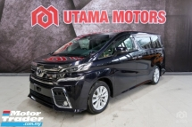 2016 TOYOTA VELLFIRE 2.5 Z 8 SEATER 1PD SALES TAX SPECIAL READY STOCK