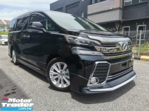 2016 TOYOTA VELLFIRE 2.5 Z UNREGISTERED 5 YEARS WARRANTY JAPAN SPEC
