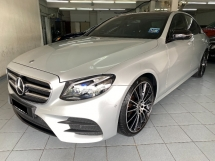 2018 MERCEDES-BENZ E-CLASS E300 AMG CKD 15K KM Full Service Actual Year Make