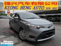 2015 TOYOTA VIOS 1.5 Auto TRUE YEAR MADE 2015 Full Service UMW Toyota 1 Lady Owner Driving Speed LESS Than 100kmh