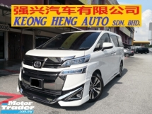 2018 TOYOTA VELLFIRE 2.5 ZG Pilot Seat NEW MODEL CBU UMW Toyota YEAR MADE 2018 Mil 51k km only UMW Warranty to 2024