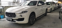 2018 MASERATI OTHER LEVANTE 3.0 D V6 DIESEL / RED LEATHER INTERIOR