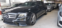 2018 MERCEDES-BENZ E-CLASS E200 AMG LINE SEDAN / MBUX MULTIMEDIA SYSTEM / NEW STERLING / READY STOCK OFFER