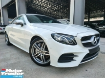 2019 MERCEDES-BENZ E-CLASS E300 Coupe 2.0 AMG Line New Steering Keyless Power Boot UK Unregister