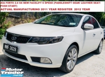 2011 NAZA FORTE 2.0 SX 156PS&194 NM,NEW FACELIFT,LED TURN SIGNAL.