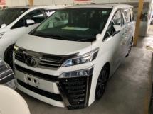 2019 TOYOTA VELLFIRE 2.5 ZG Sunroof surround camera power boot Pilot seat Unregistered