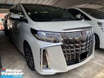 2018 TOYOTA ALPHARD 2.5 SC Facelift Pilot Seat Power Boot Reg 2020