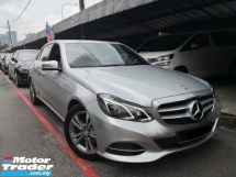2014 MERCEDES-BENZ E-CLASS E200 W212 Facelift Local MADE 2014 Avantgarde ((( FREE 2 YEARS WARRANTY ))) Full Service Cycle