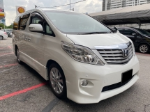 2010 TOYOTA ALPHARD 240S PRIME SELECTION *Home theater *Power Boot