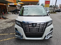 2020 TOYOTA ALPHARD 2020 Toyota Alphard 2.5 SC (A) 3 LED