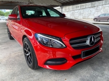 2015 MERCEDES-BENZ C-CLASS C200 CKD Full Service Record Free 2 Years Warranty