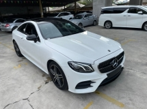 2018 MERCEDES-BENZ E-CLASS E300 COUPE AMG PANROOF NO HIDDEN CHARGES