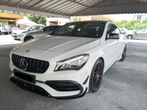 2017 MERCEDES-BENZ CLA CLA45 AMG 4MATIC YEAR MADE 2017 TURBO 375 BHP Serviced Cycle Carriage ((( FREE 1 YEAR WARRANTY )))