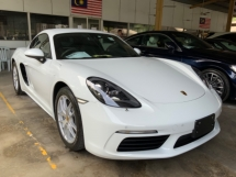 2017 PORSCHE CAYMAN 2.0 718 Turbo Coupe Grade 5 Star Condition 300hp PDK Low Interest Unregistered