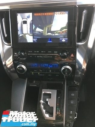 2016 TOYOTA VELLFIRE Unreg Toyota Vellfire Z 7seather 360View Cam Sun Roof JBL HomeTheater 7G Keyless Sunroof Powerboot