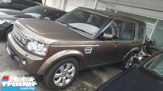 2012 LAND ROVER DISCOVERY 4 TDV6 HSE