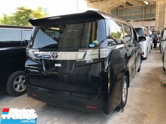 2017 TOYOTA VELLFIRE 2.5 HI SPEC.TRUE YEAR MADE CAN PROVE.UNREGISTER.3 POWER DOORS N BOOT.360 CAMERA.2 WHEELDRIVE N ETC.