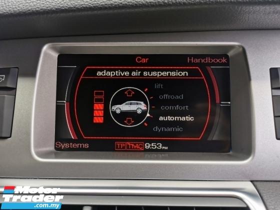 2009 AUDI Q7 Audi Q7 3.0 TDi QUATTRO S LINE BOSE PBOOT WARRANTY