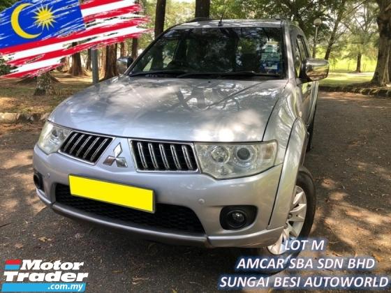 2011 MITSUBISHI PAJERO SPORT 2.5 GS SUV (A) 4X4 1 OWNER SALE