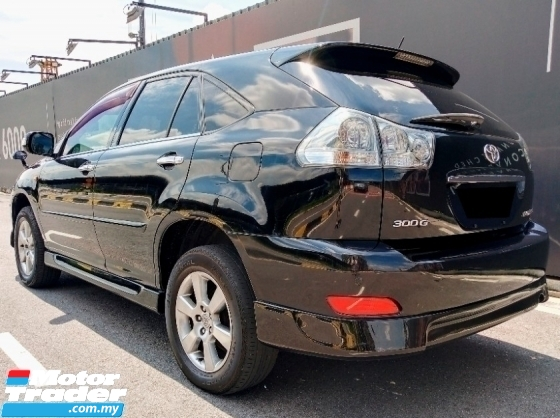 2008 TOYOTA HARRIER PREMIUM L PACKAGE WITH PANAROMIC ROOF ELECTRONIC SEAT AFS SYSTEM