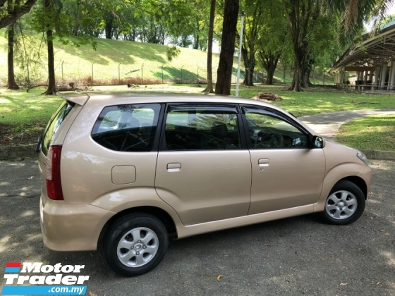 2006 TOYOTA AVANZA 1.3E (A) VVT-i 1 OWNER LEATHER SALE