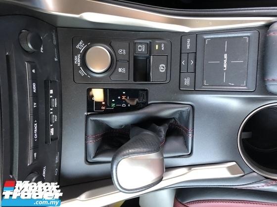 2016 LEXUS NX Unreg Lexus NX200T 2.0 Turbo Camera F Sport Paddle Shift 6Speed Keyless Push Start