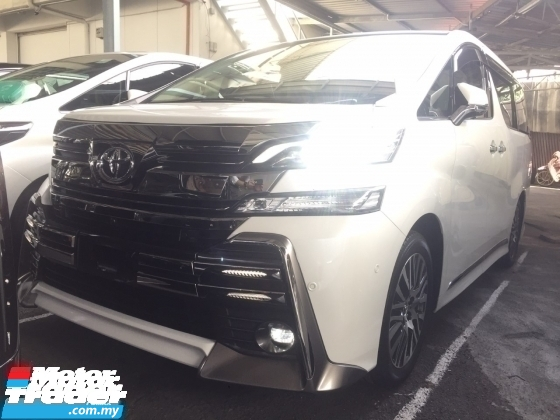 2016 TOYOTA VELLFIRE 2.5 Z G ZG FULLSPEC.UNREGISTER.TRUE YEAR MADE.SUNROOF.SPECIAL JAPAN BODYKIT.PILOT SEAT.JBL HOME THEATER.3 POWER DRS N BOOT.MEMORY SEAT.LED LIGHT.SPORT RIM.FREE WARRANTY N MANY GIFTS