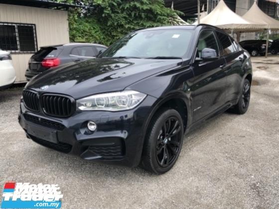 2015 BMW X6 Unreg BMW X6 3.0 Turbo Diesel 40D Sunroof PowerBoot Camera Keyless M Sport Push Start