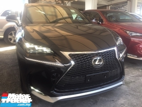 2016 LEXUS NX 200 T F SPORT UNREG.TRUE YEAR MADE N GRED A CAN PROVE.SPORT PADDLE SHIFT N BODYKIT.LED.MOONROF N ETC