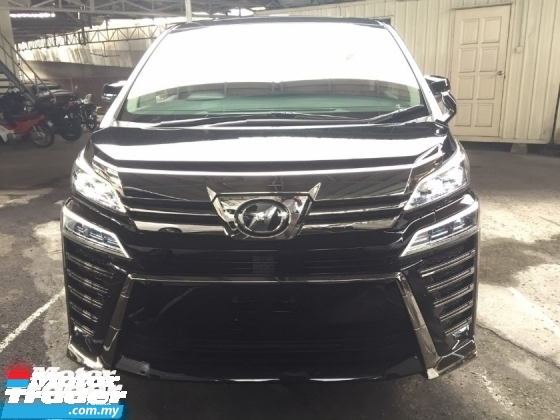 2018 TOYOTA VELLFIRE 2.5 ZG FACELIFT UNREG.SUNROOF.3 EYES LED.MEMORY SEAT.3 POWER DRS N BOOT.360 SURROUND CAM N ETC
