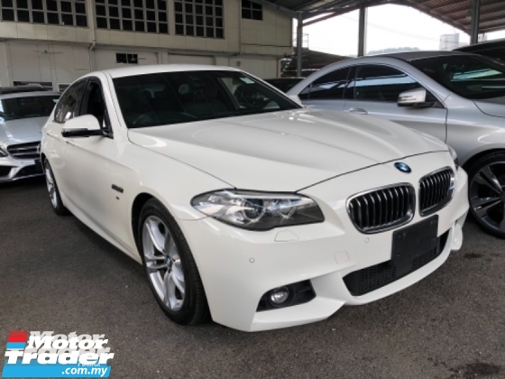2014 BMW 5 SERIES Unreg BMW 520i 2.0 M Sport Turbo Camera Keyless Push Start 8G