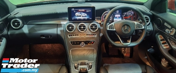 2018 MERCEDES-BENZ C-CLASS 2018 MERCEDES C200 2.0 AMG SPEC FROM JAPAN UNREG CAR SELLING PRICE RM 199000.00 NEGO
