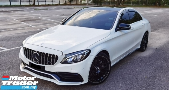2015 MERCEDES-BENZ C-CLASS 2015 MERCEDES C200 2.0 AVANTGARDE CONVER TO C43 FULL BODYKIT CAR SELL PRICE ( RM 159,000.00 NEGO )