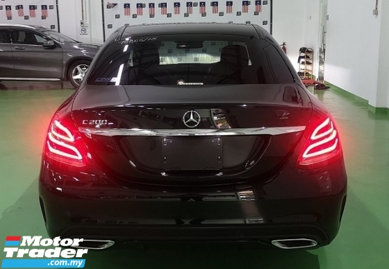 2016 MERCEDES-BENZ C-CLASS 2016 MERCEDES C200 2.0 AMG SPEC ORIGINAL FROM JAPAN UNREG CAR SELLING PRICE ( RM 185,000.00 NEGO )