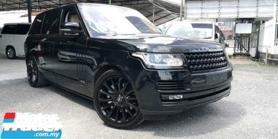 2016 LAND ROVER RANGE ROVER VOGUE 5.0 AUTOBIO LWB / FULLY LOADED SPEC / READY STOCK NO NEED WAIT / TIPTOP CONDITION FROM UK