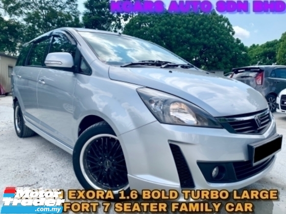 2013 PROTON EXORA 1.6 H-LINE 1 OWNER GOOD CONDITION