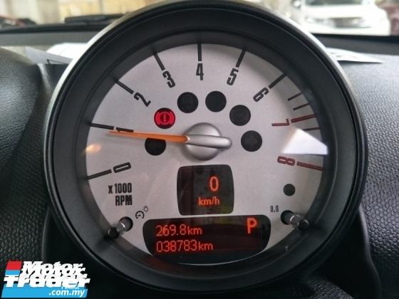 2014 MINI Countryman 1.6 PUSH START BUTTON SAVE PETROL MINI CAR FREE WARRANTY LOCAL AP