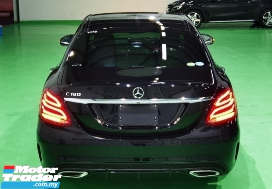2018 MERCEDES-BENZ C-CLASS 2018 MERCEDES C180 1.6 AMG 9 SPEED SPEC JAPAN UNREG CAR SELLING PRICE ( RM 199000.00 NEGO )